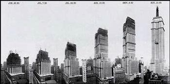 an analysis of construction of the empire state building